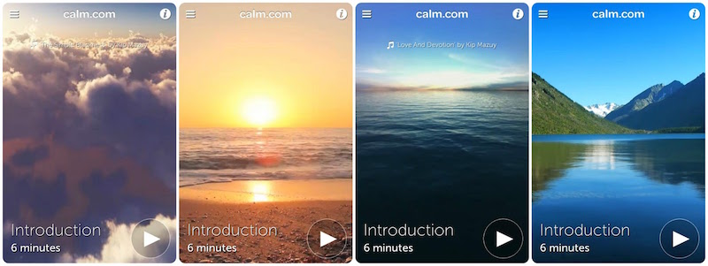 calm app photo