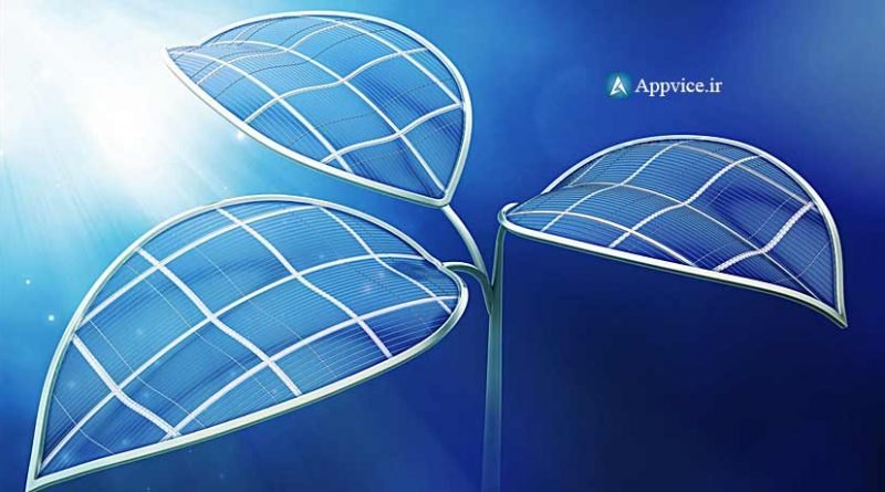 درست مانند نسخه های قبلی bionic leaf 2.0 در آب قرار میگیرد و همزمان با جذب انرژی خورشیدی قادر است مولکول های آب را به... در فرآیند تولید سوخت و انرژی تول...