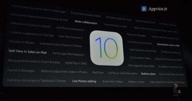 کمپانی اپل در کنفرانس WWDC آی او اس جدید خود یعنی iOS 10 را معرفی کرد و طبق روال همیشه این نسخه در فصل پاییز و همراه با به بازار آمدن گوشی جدید آیفون