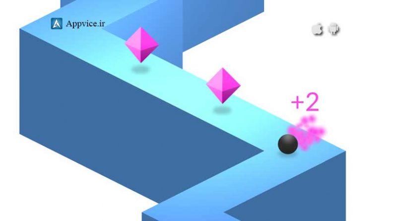 دانلود و توضیحات بازی جذاب و محبوب ZigZag از استودیو Ketchapp