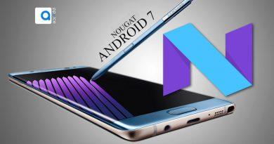 کمپانی سامسونگ هم اعلام کرده یکی از دستگاه های این کمپانی که قرار است مجهز به سیستم عامل اندروید 7 نوگا شود گوشی گلکسی نوت 7 (Galaxy Note 7) خواهد بود