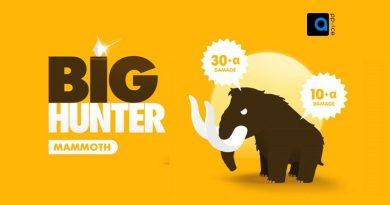 بازی شکارچی ماموت Big Hunter ساخته استودیوی KAKAROD INTERACTIVE، یک بازی اکشن پرقدرت و جذاب از شکار قبایل گرسنه است، شکار ماموت های غول پیکر.