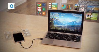 گجت Superbook مانند قابی ست که گوشی اندروید شما را تبدیل به یک لپ تاپ کامل میکند و برایتان این امکان را فراهم می آورد که با آزادی عمل در هر لحظه و هر مکان