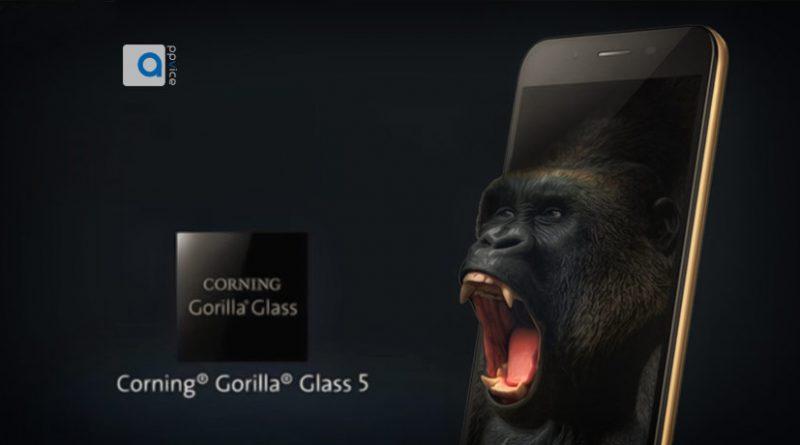 آخرین نسخه گوریلا گلس کمپانی کورنینگ (Corning's Gorilla Glass) طوری ساخته شده تا در صورت سقوط بر روی سطوح سخت، از ارتفاع زیاد آسیب نمیبیند و ضد ضربه است