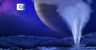 در تصاویر تازه ثبت شده تلسکوپ فضایی هابل نشانه های فورانهایی دیده شده است که دانشمندان آنها را بخار آبهای زیر زمینی و اقیانوس بزرگ و پهناور پنهان شده اروپا