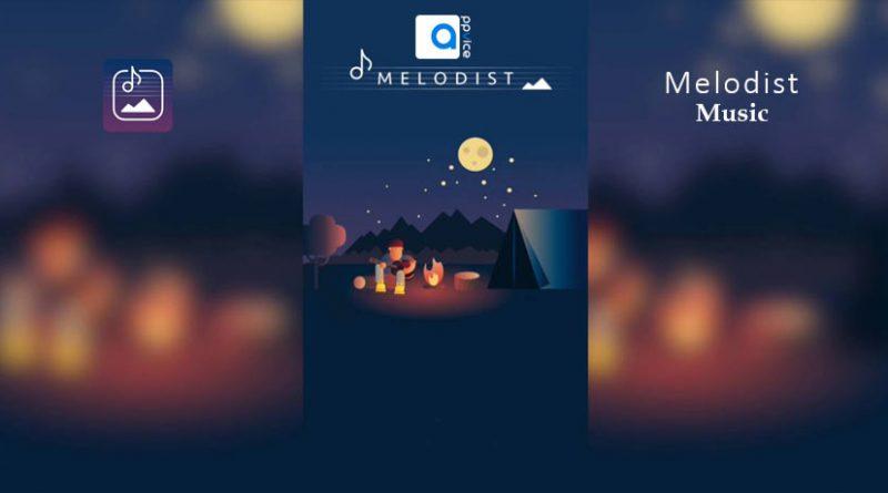 اپلیکیشن آیفون Melodist پس از تبديل هر عكس به موسيقي، قطعه ساخته شده را با افكتي انيميشني پخش ميكند و به شما امكان ميدهد بتوانيد سرعت پخش موسيقي