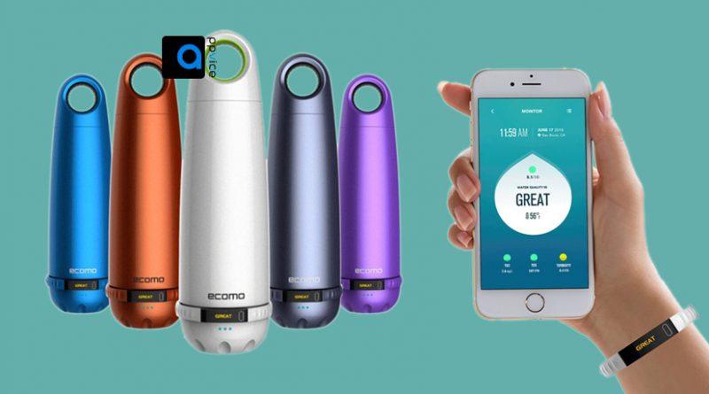 گجت Ecomo Bottle، اولین بطری و گجت جدیدی که آب غیر آشامیدنی را تصفیه میکند