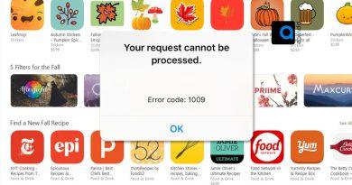 یوزرهای محصولات اپل (آیپد و آیفون) مطمئنا و تحريم های گاه و بيگاه كاربران ايرانی توسط اپل با پیغام خطای ١٠٠٩ اپ استور (Error 1009) دانلود و آپدیت اپلیکیشن