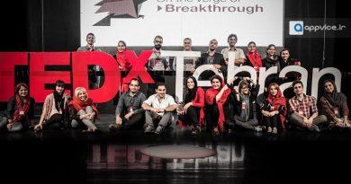 اپلیکیشن TEDx TEHRAN سخنرانی های خلاقانه و نوآورانه استعدادهای ایران زمین پخش زنده