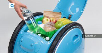چمدان خودران رباتی برای حمل وسائل