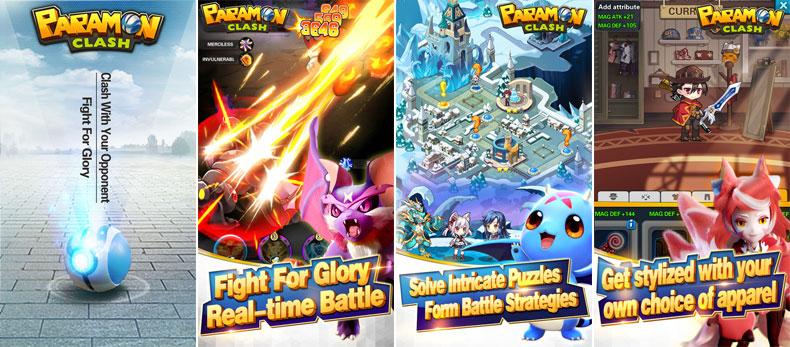 بازی واقعیت افزوده paramon clash
