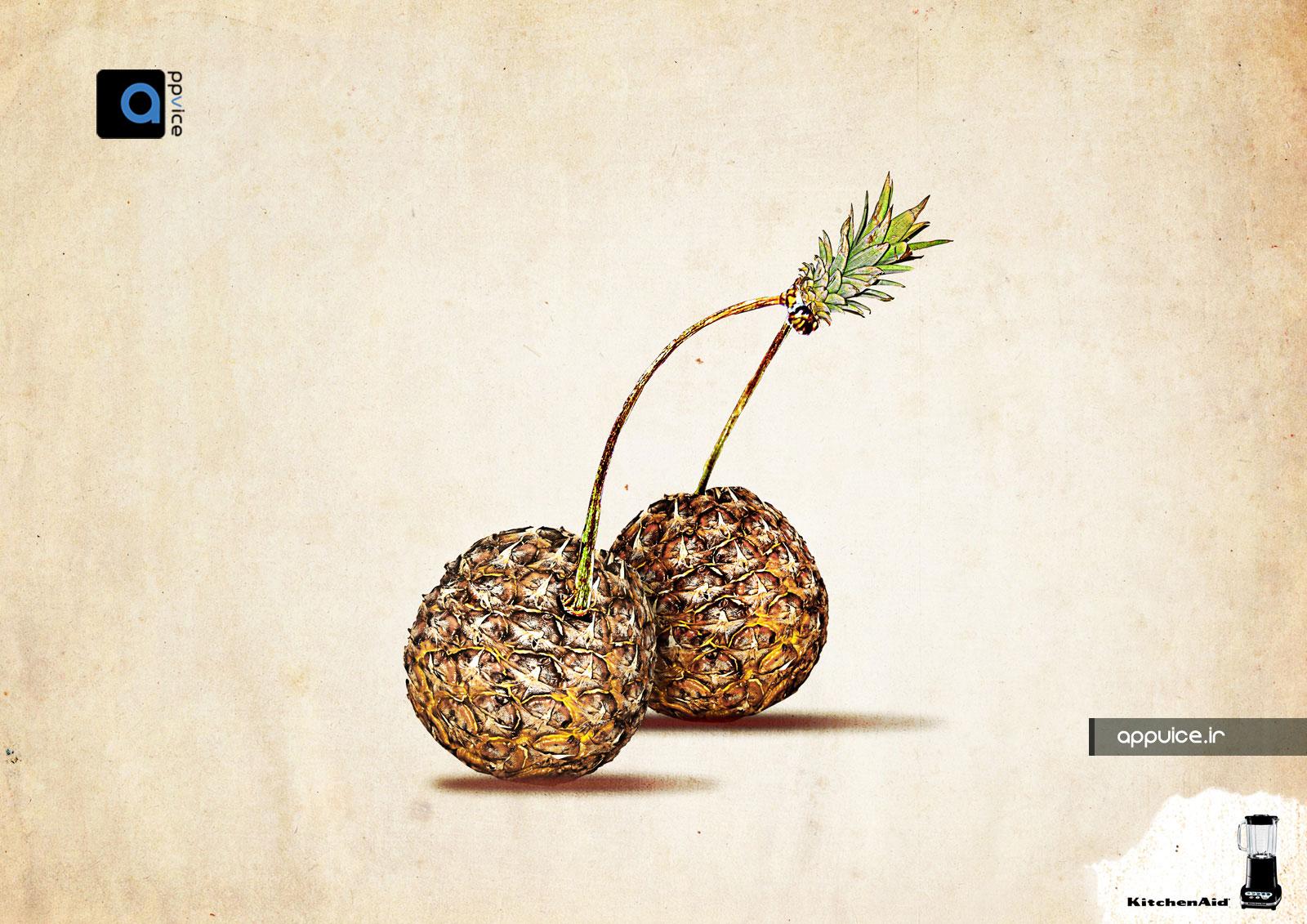 تبلیغات خلاقانه و ایده تبلیغاتی KitchenAid