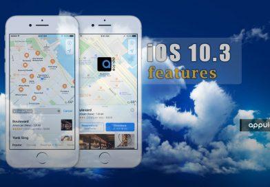 تغییرات و هشت قابلیت آپدیت آی او اس iOS 10.3